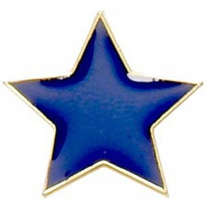 Star Badge - Blue