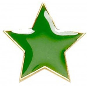 Star Badge - Green