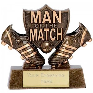 Man of the Match Boots/Shield